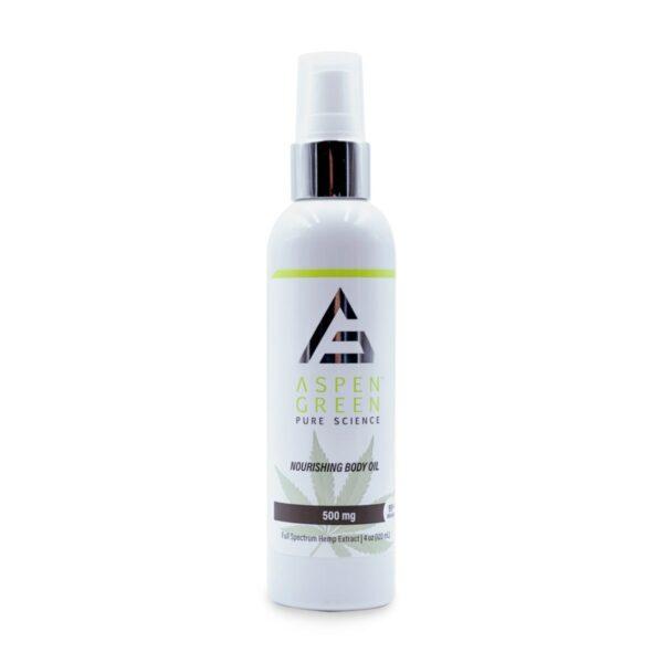 Aspen Green USDA Certified - 500mg Nourishing Body Oil