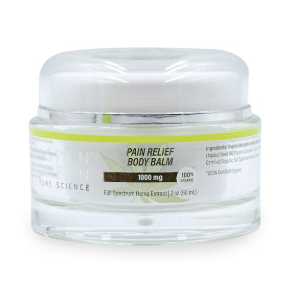 Aspen Green USDA Certified - 1000mg Pain Relief Body Balm