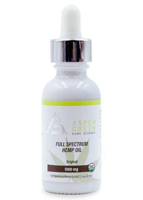 Full Spectrum Hemp Oil (1000mg)