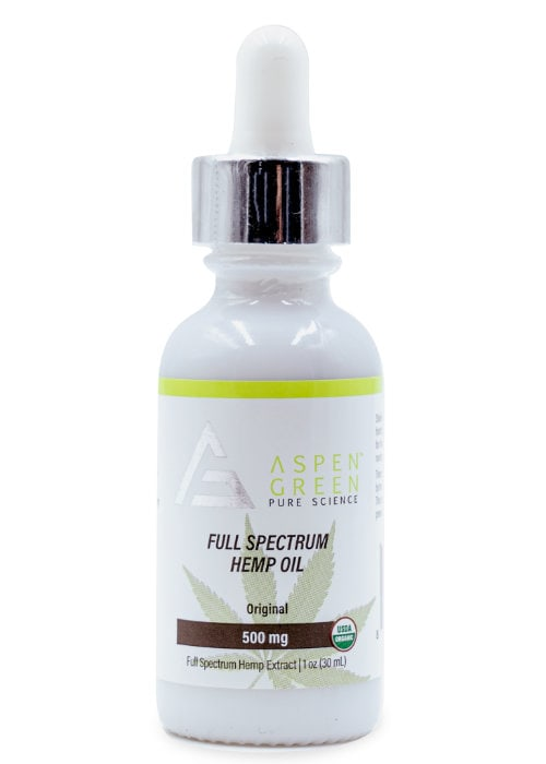 Full Spectrum Hemp Oil (500mg)